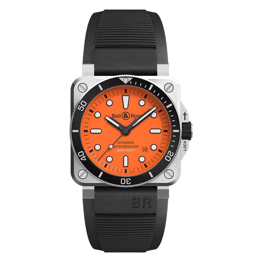 BR 03-92 Diver Orange Watch