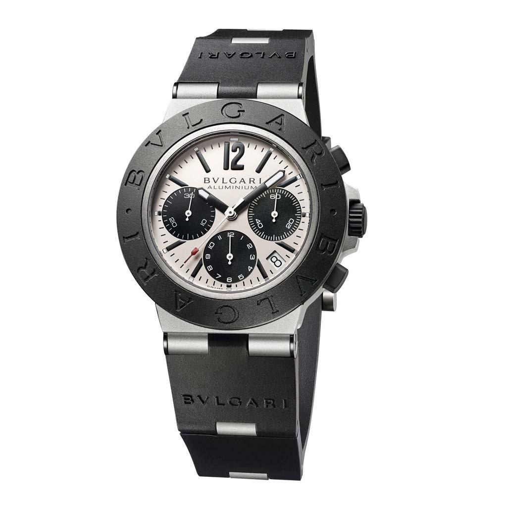 Bvlgari Aluminum Chronograph Watch