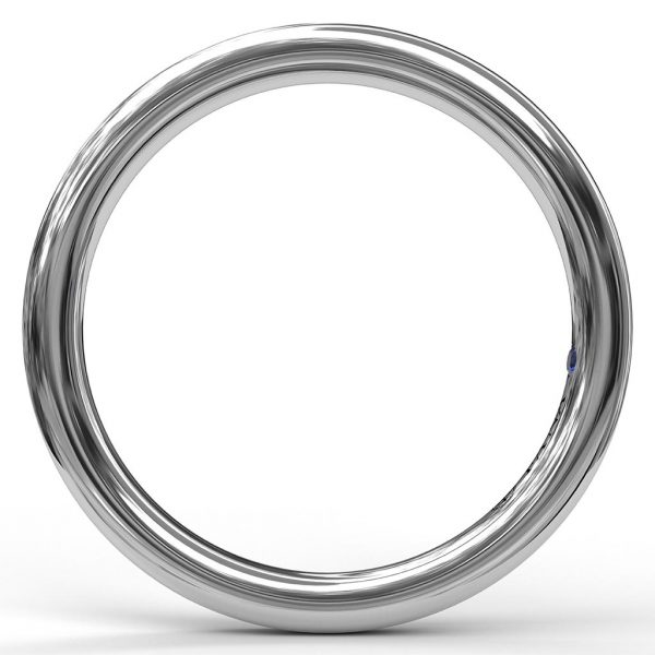 Matching Band to Split Shank Diamond Engagement Ring