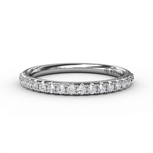 Matching Band to Halo Diamond Three Stone Engagement Ring