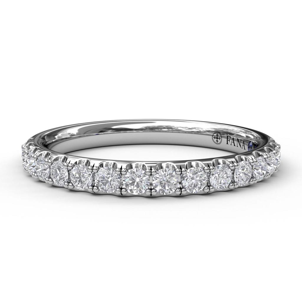 Matching Band to Diamond Solitaire Engagement Ring