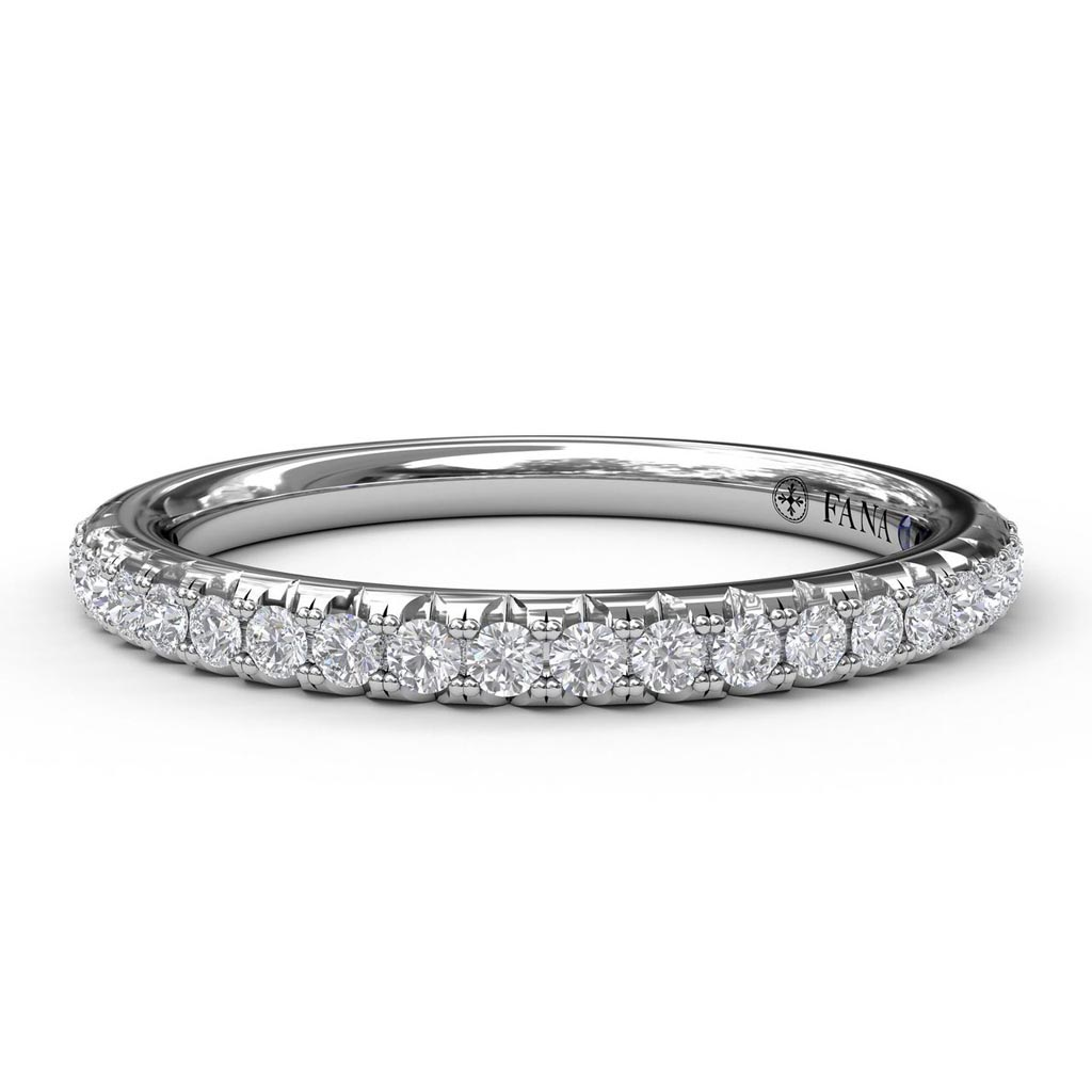 Matching Band to Cathedral Diamond Engagement Ring