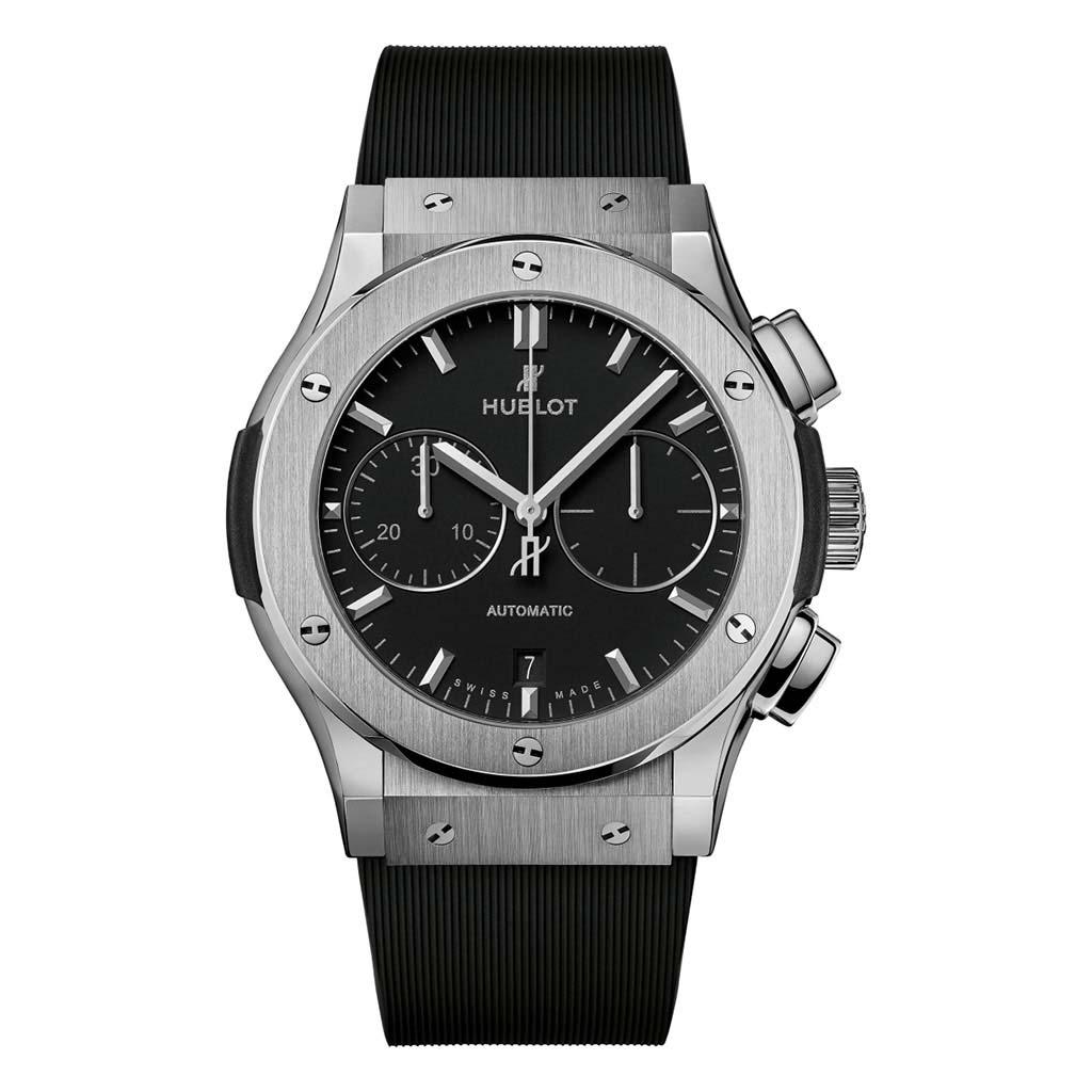 Classic Fusion Chronograph Titanium Watch