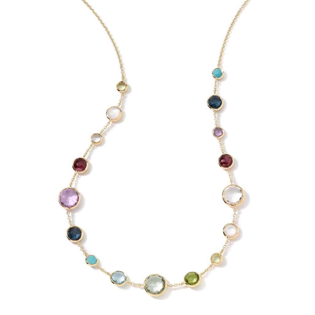 LOLLIPOP Lollitini Short Necklace in 18K Gold