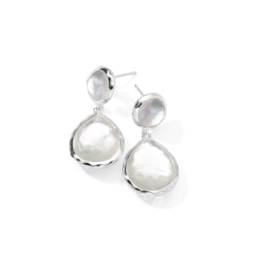 ROCK CANDY 2-Stone Earrings in Sterling Silver