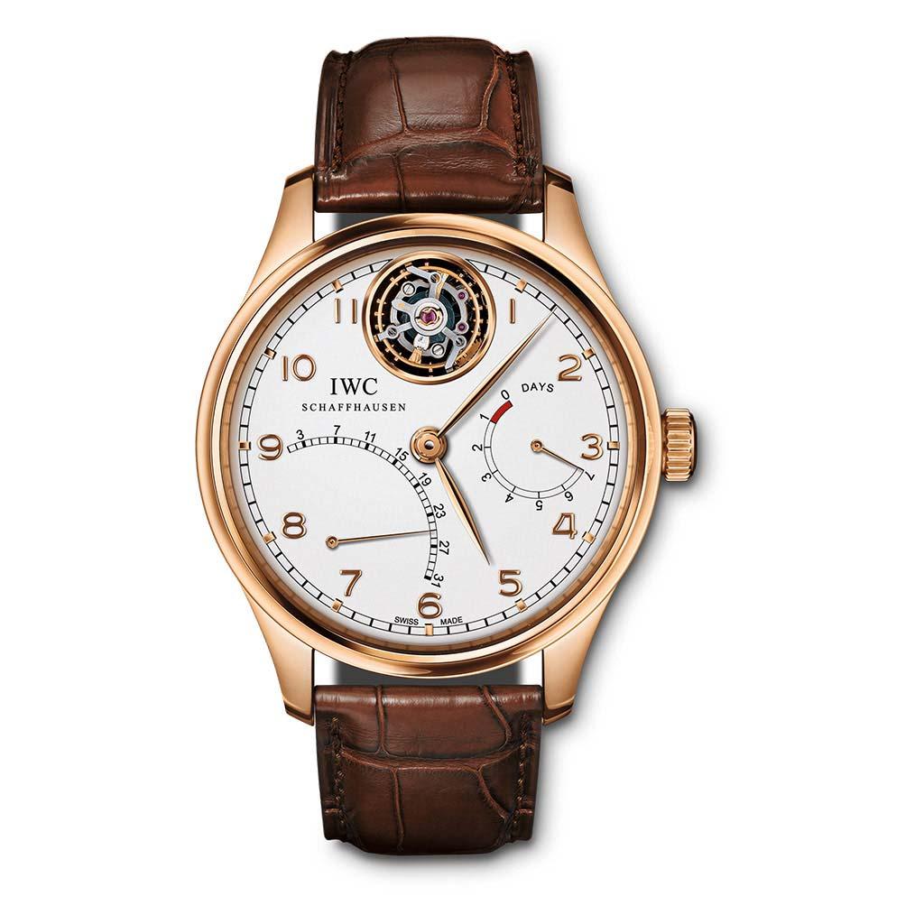 Portugieser Tourbillon Mystere Retrograde Watch