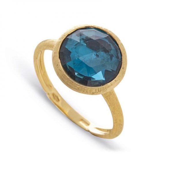 Jaipur London Blue Topaz and Ring