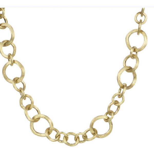 Jaipur Link Gold Small Gauge Necklace