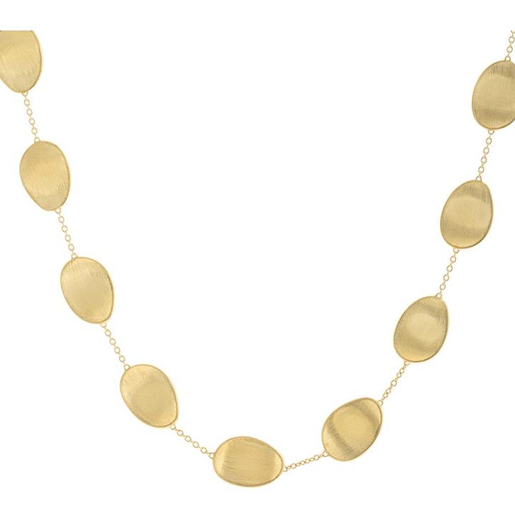 Lunaria Gold Short Necklace