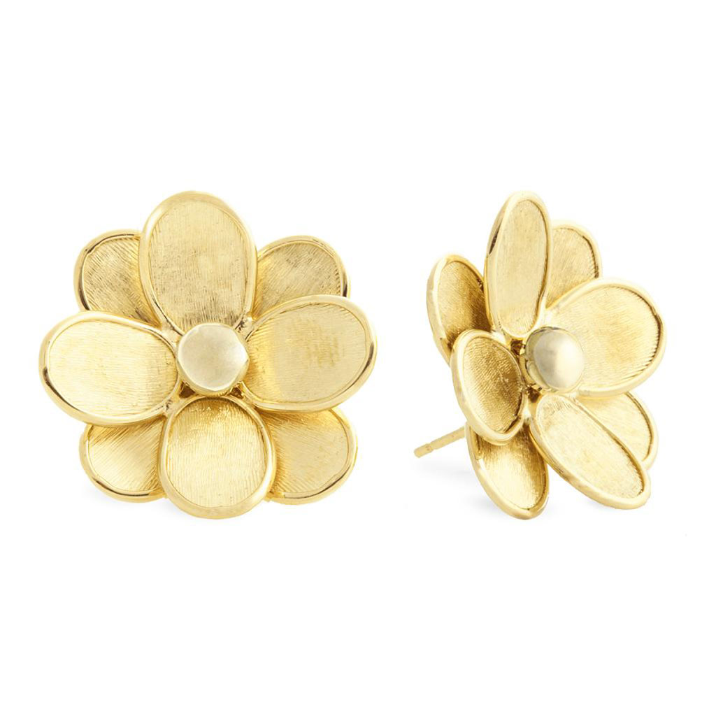 Petail Flower Stud Earrings
