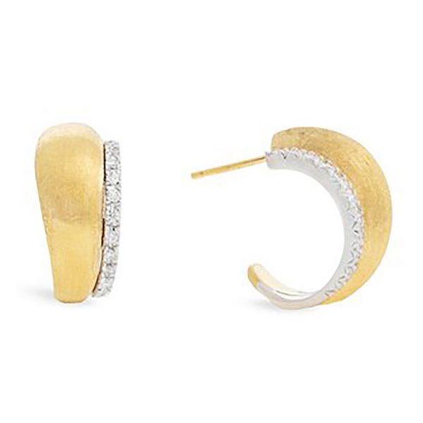 Lucia Diamond Huggie Earrings