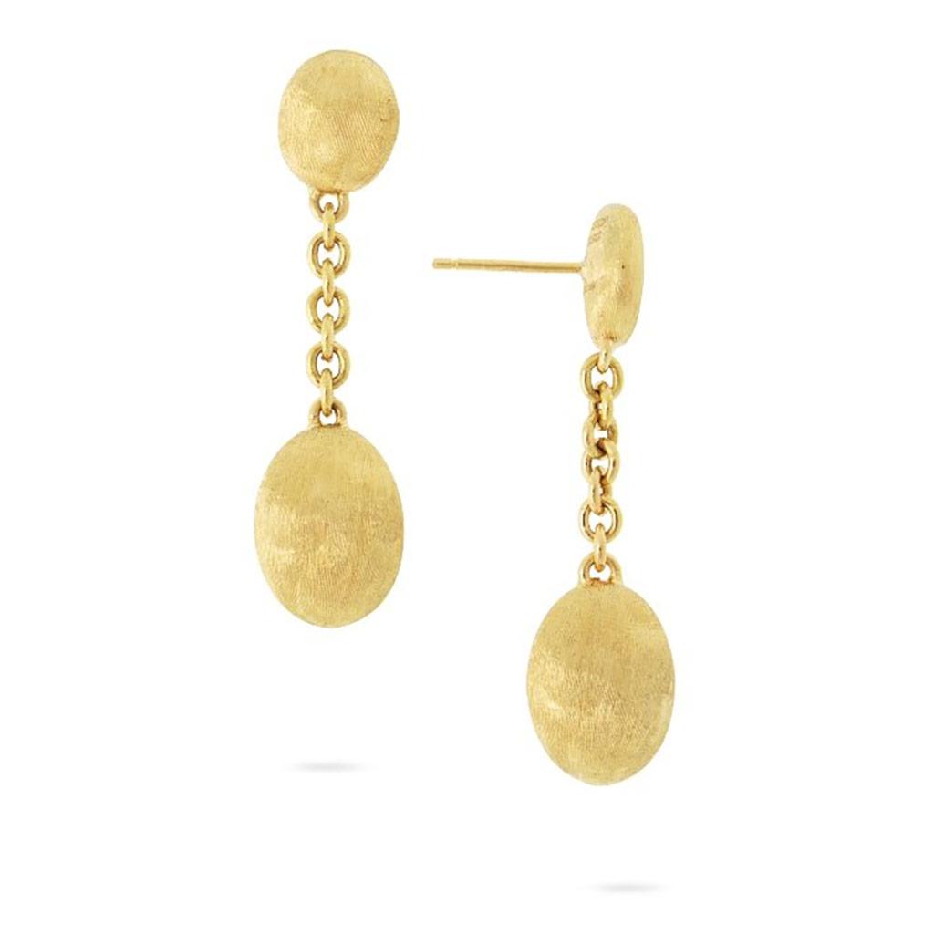 Siviglia Grande Yellow Gold Drop Earring