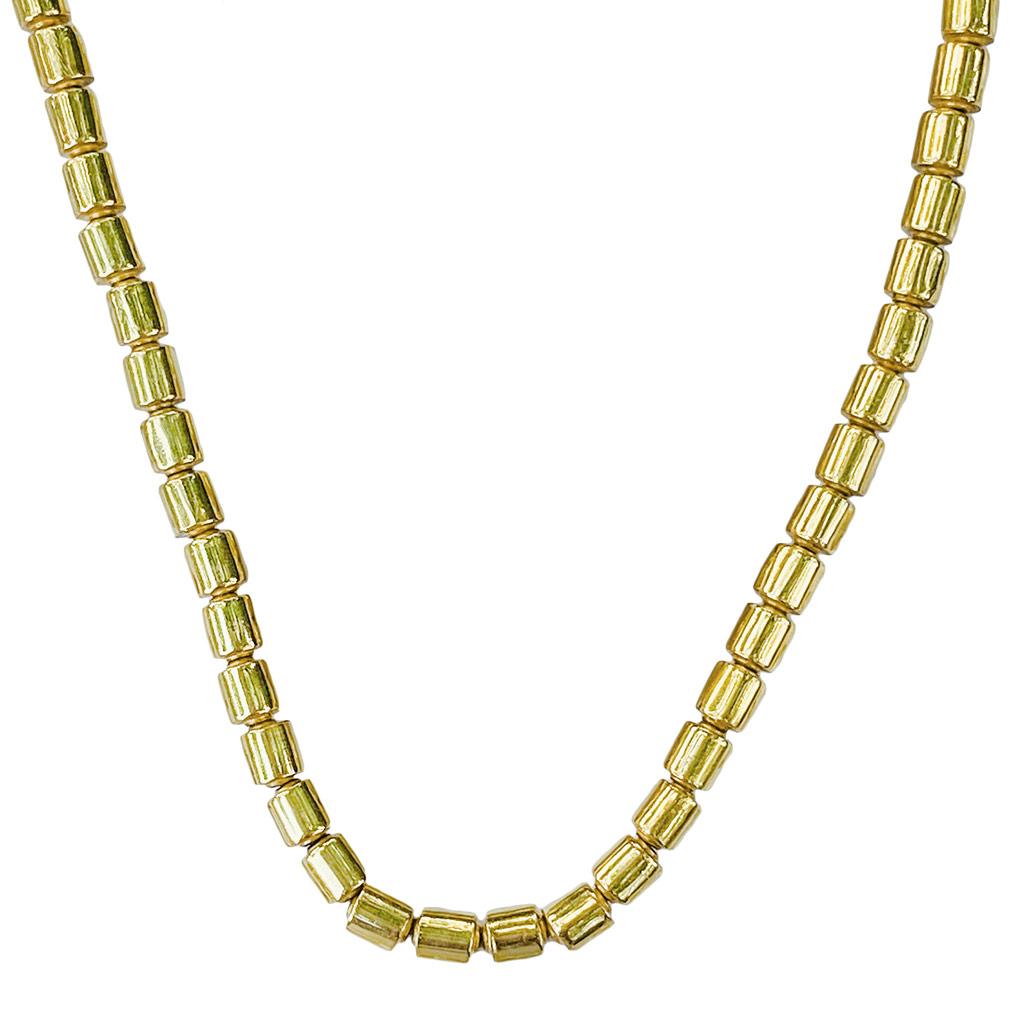 Tubular Handmade Bead Necklace