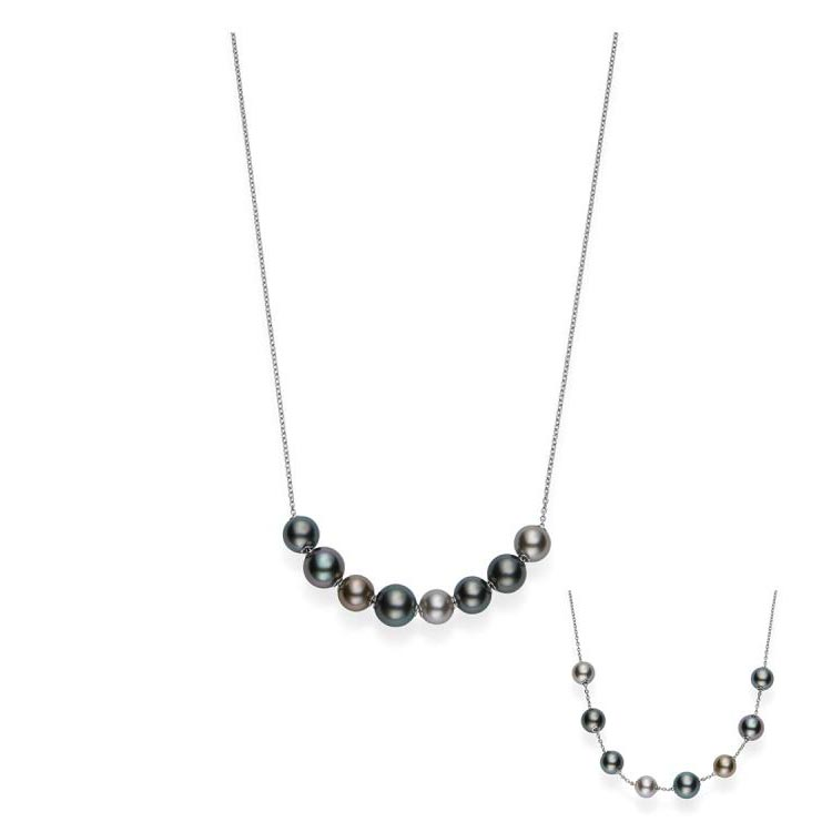 Pearls In Motion Multi South Sea Pearl Necklace