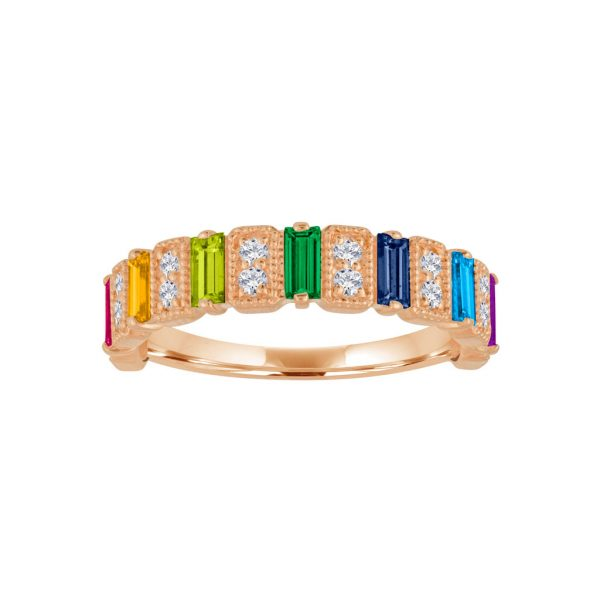 The Amelia Rainbow Fashion Ring