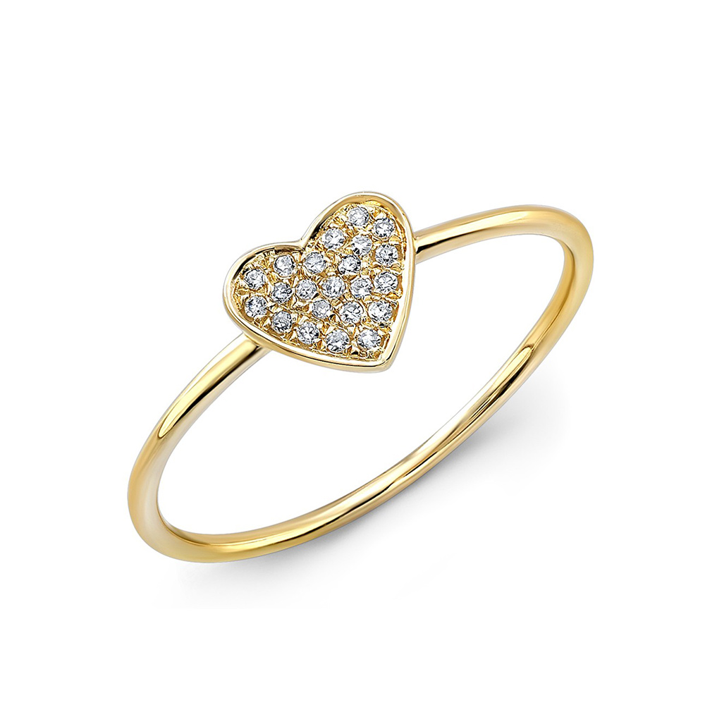 Le Petite Heart Ring Y