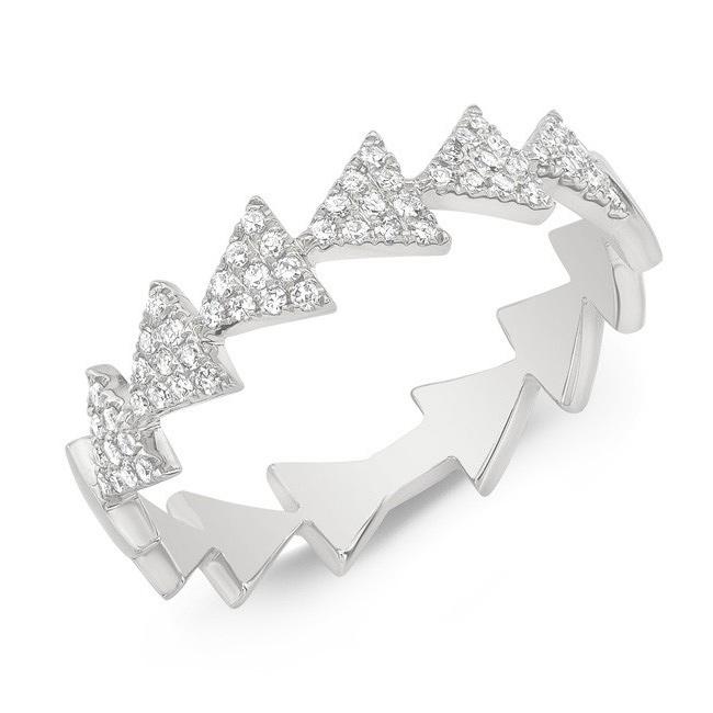 Triangle Train Ring W