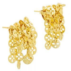 Chimento 18k Yellow Gold Stud Earrings