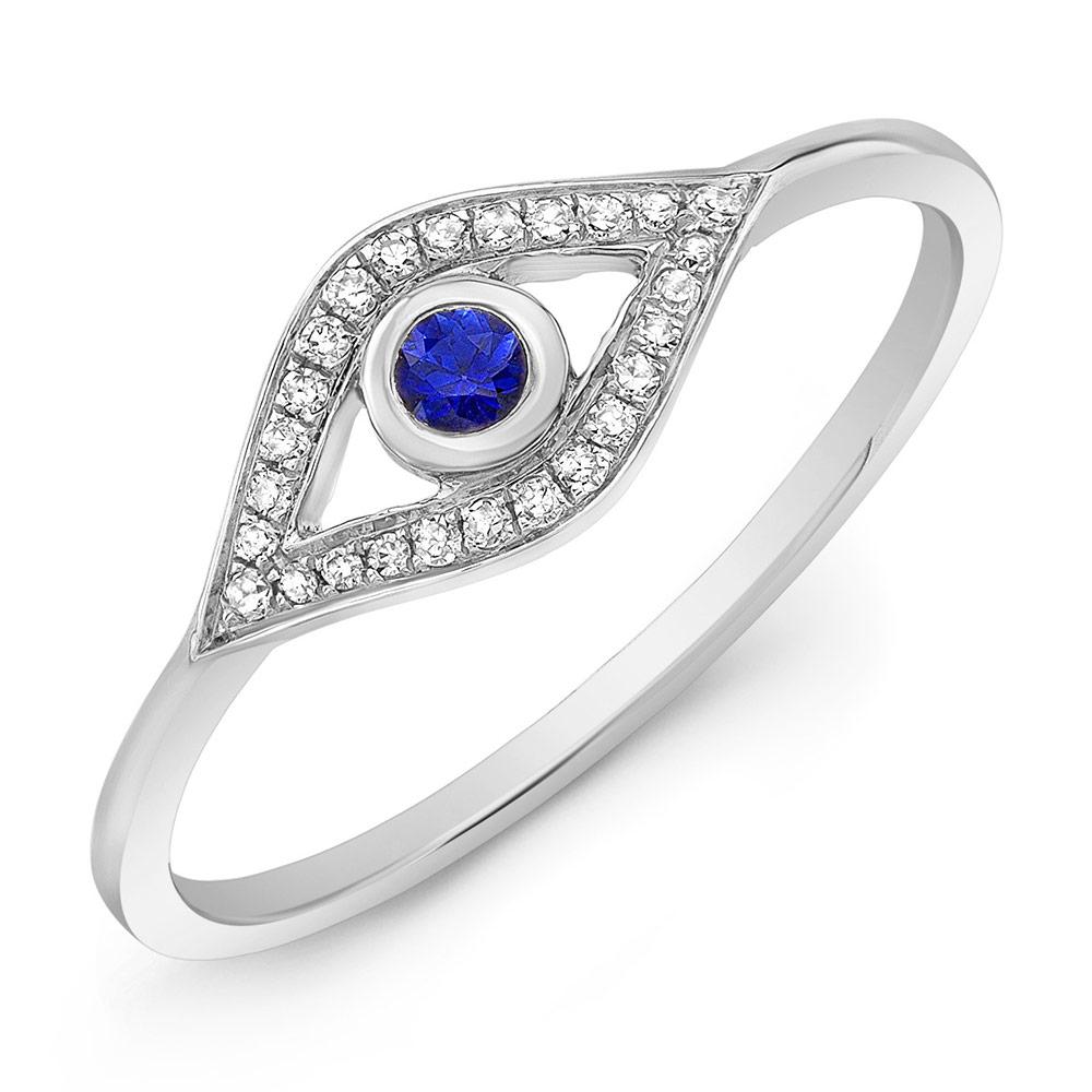 Evil Eye Ring W