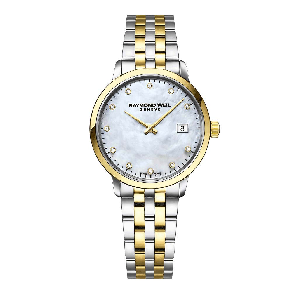 Toccata Ladies Two-Tone Gold Diamond Quartz Watch Watch