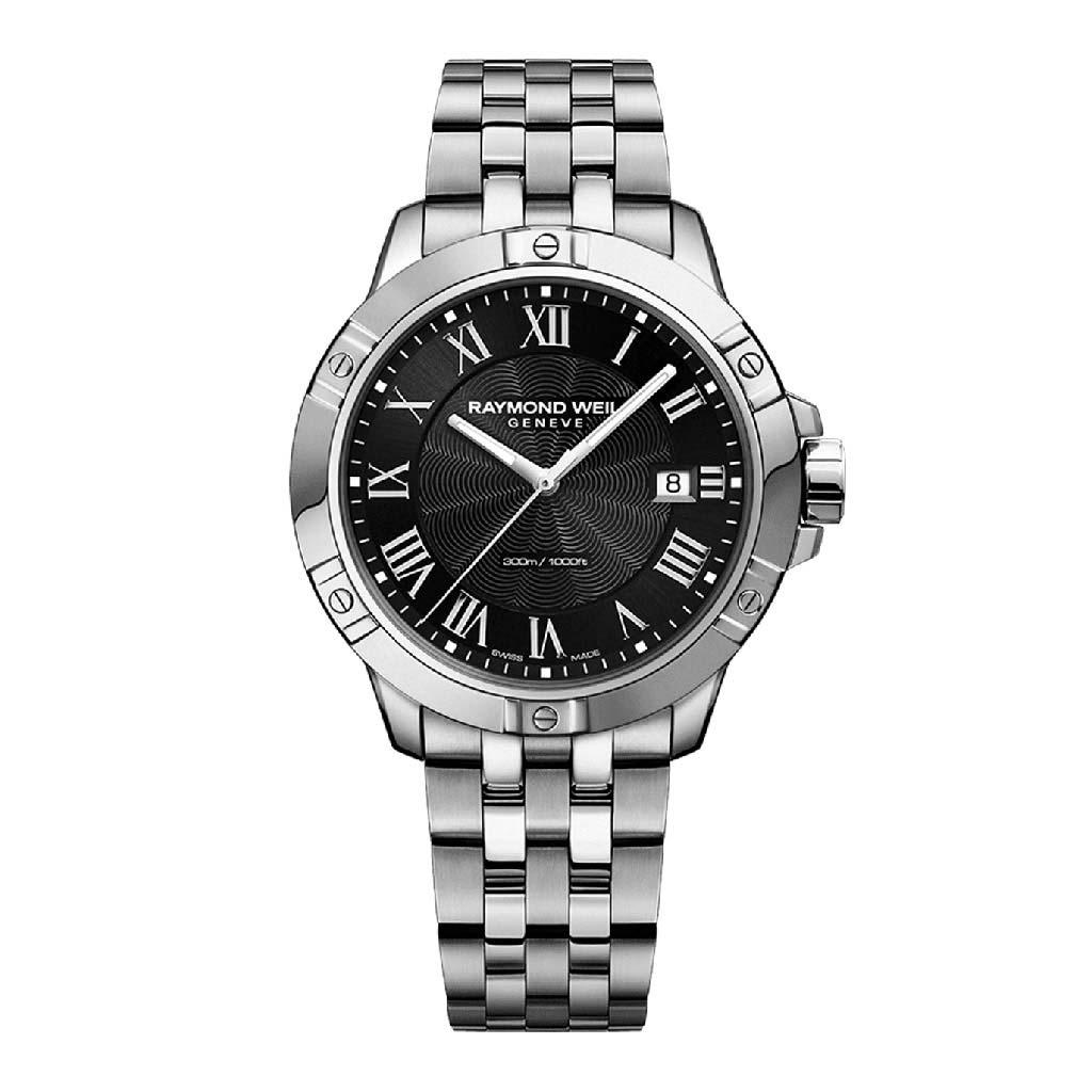 Tango Classic Mens Black Dial Quartz Watch Watch