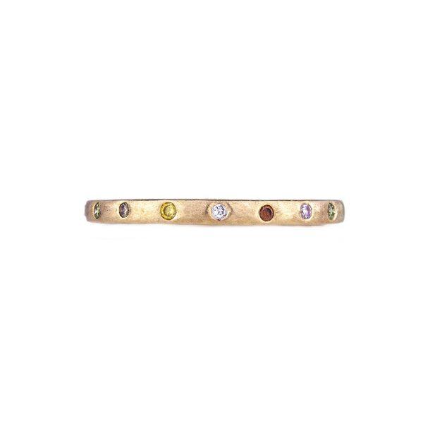 The Dunes Narrow Band Fashion Ring