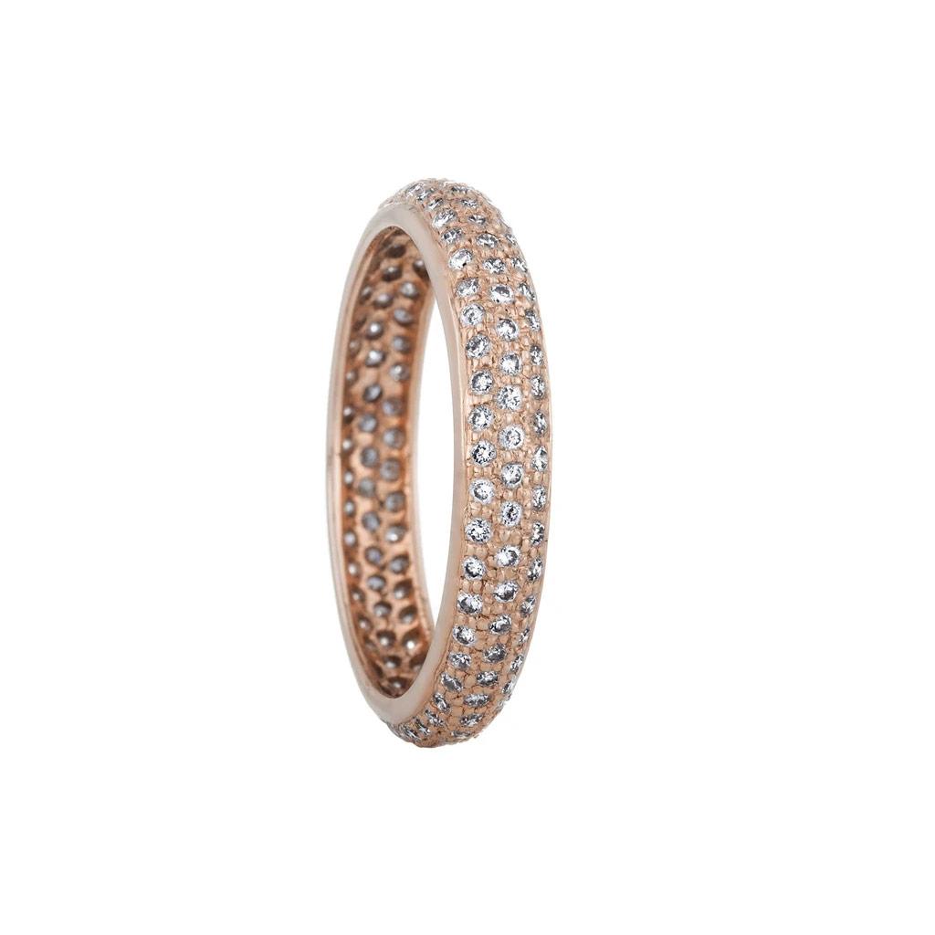 The Tire Diamond Eternity Ring