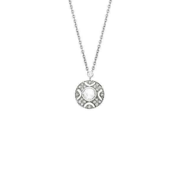 Art Deco Bezel Necklace