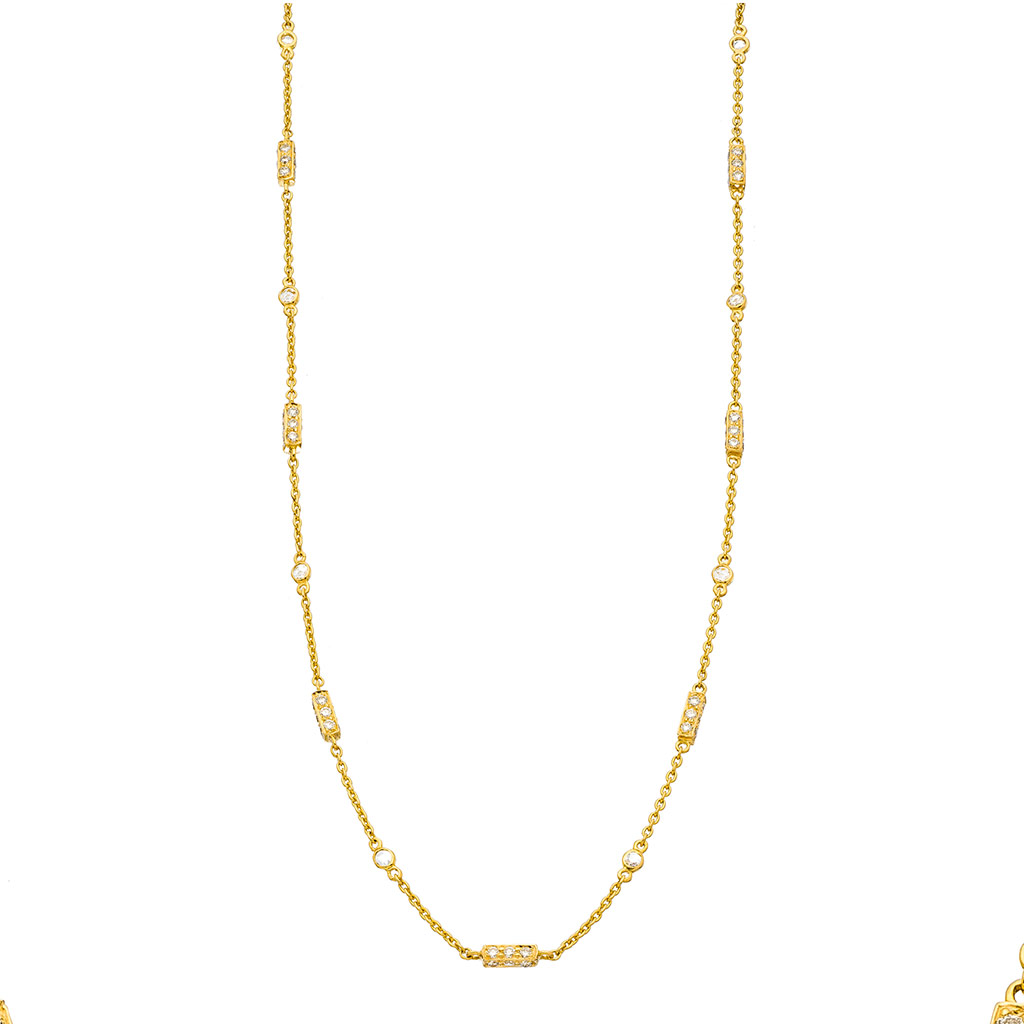 The Barrel Chain Necklace