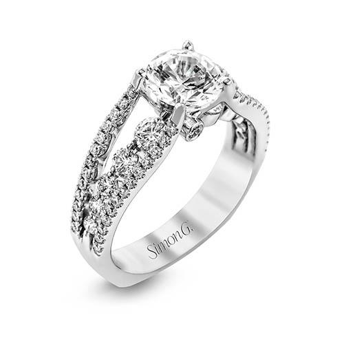 Modern Enchantment MR2248 Engagement Ring