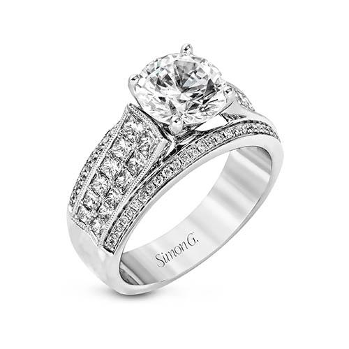 Nocturnal Sophistication MR2425 Engagement Ring