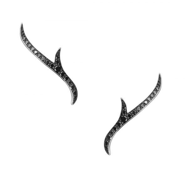 Thorn Stem Earstuds