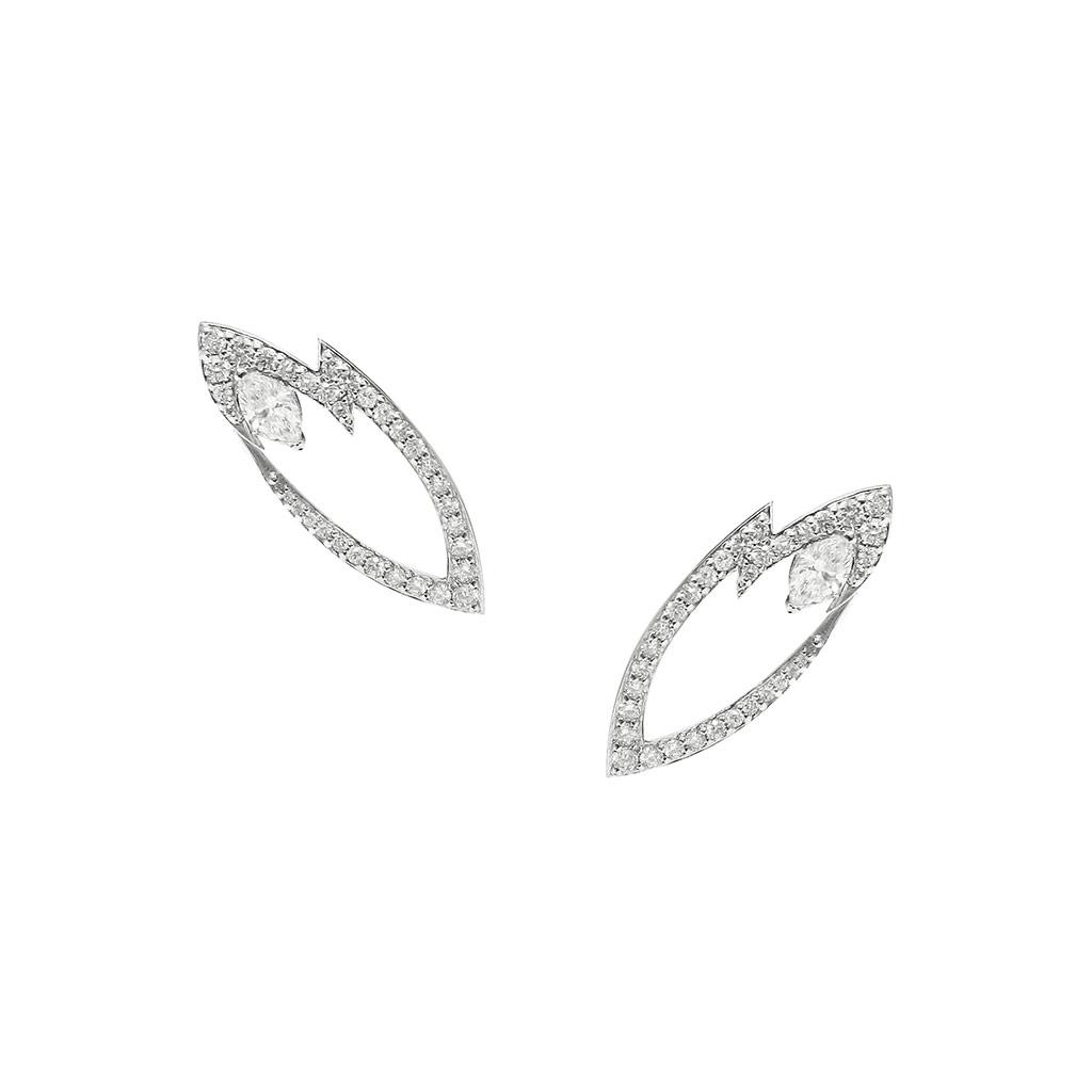 Lady Stardust Marquise Earrings
