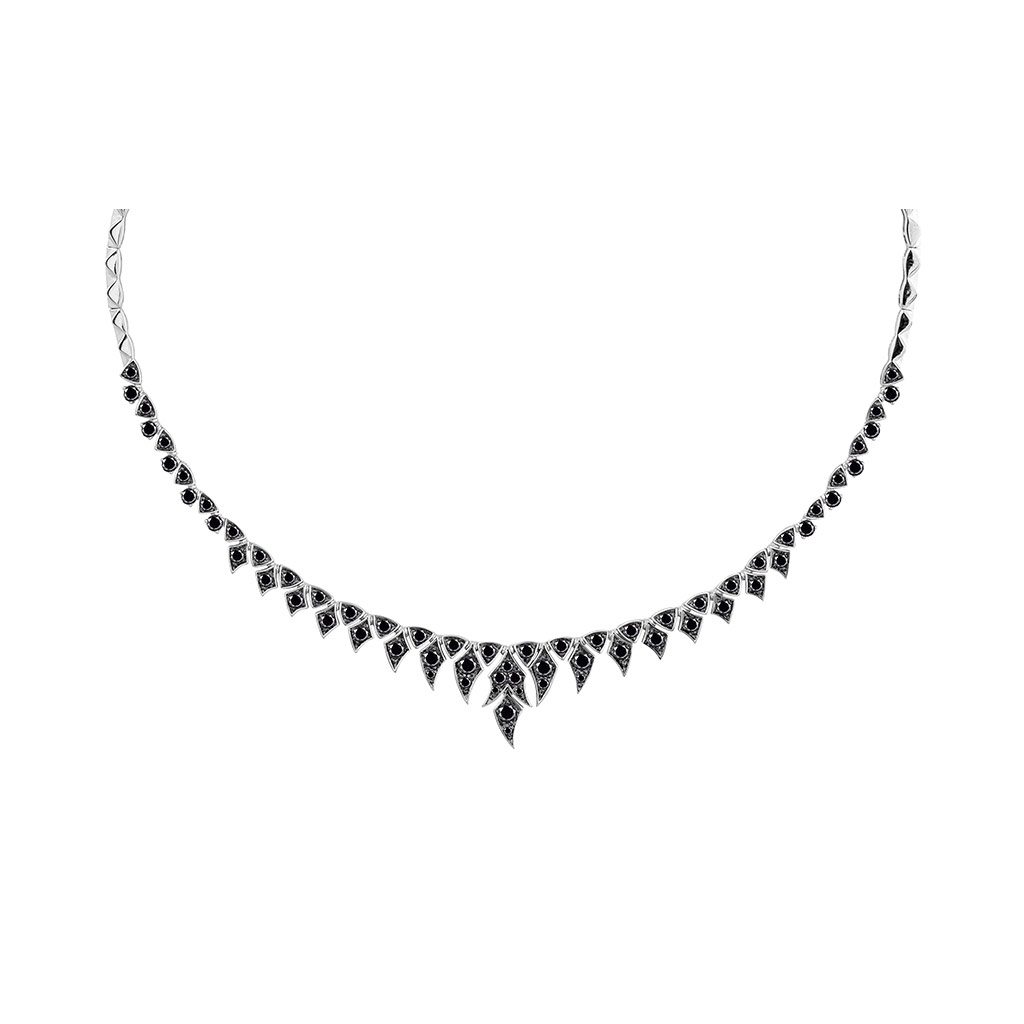 Magnipheasant Pave Short Necklace