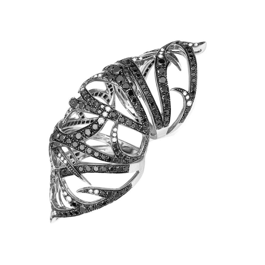 Thorn Long Finger Ring