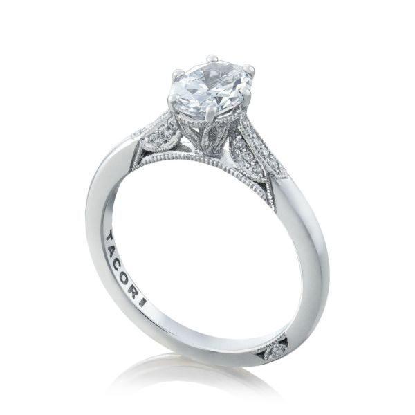 Simply Tacori Diamond Solitaire Engagement Ring