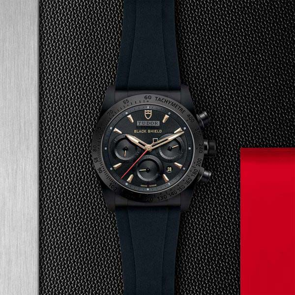 Fastrider Black Shield 42mm Watch