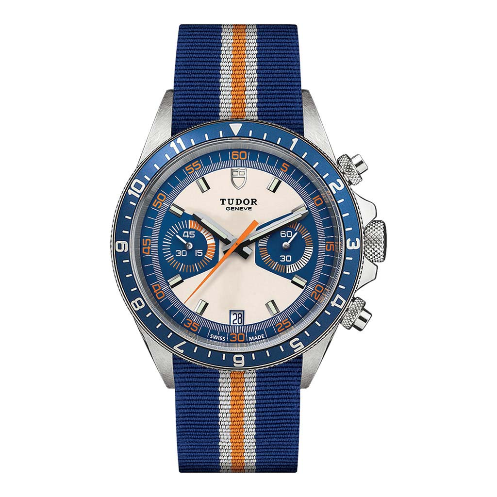Chrono Blue Watch