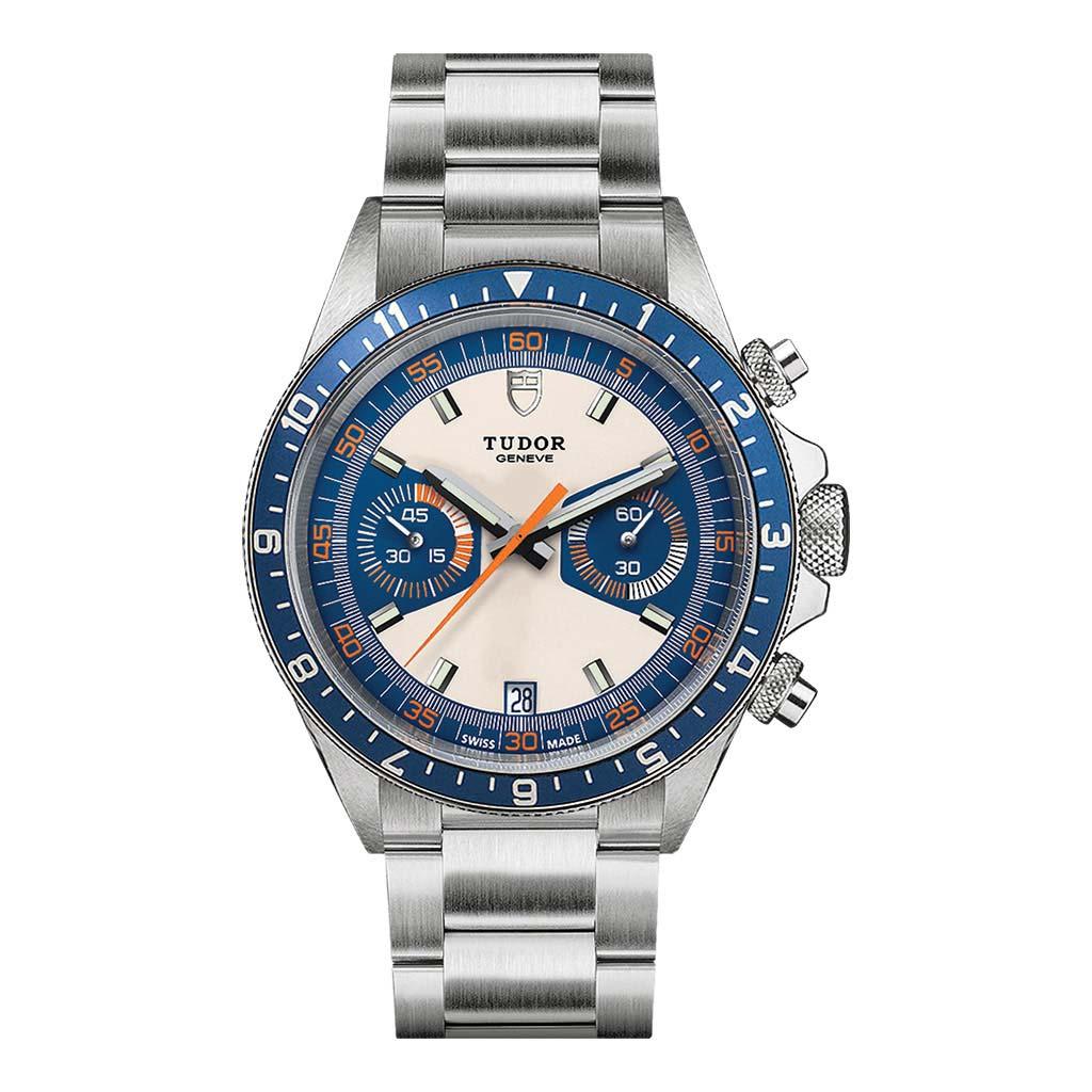 Heritage Chrono Blue Watch