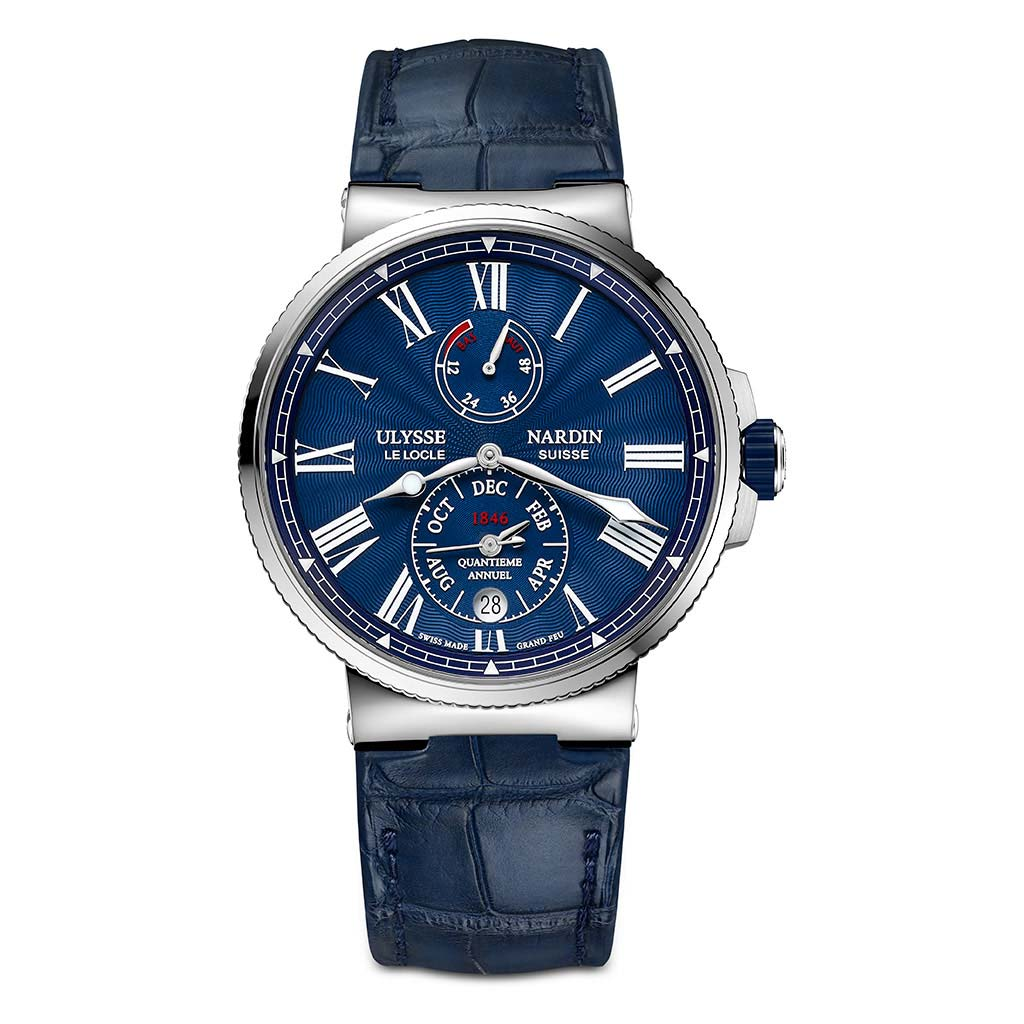 Marine Chronometer Annual Calendar Manufacture Watch