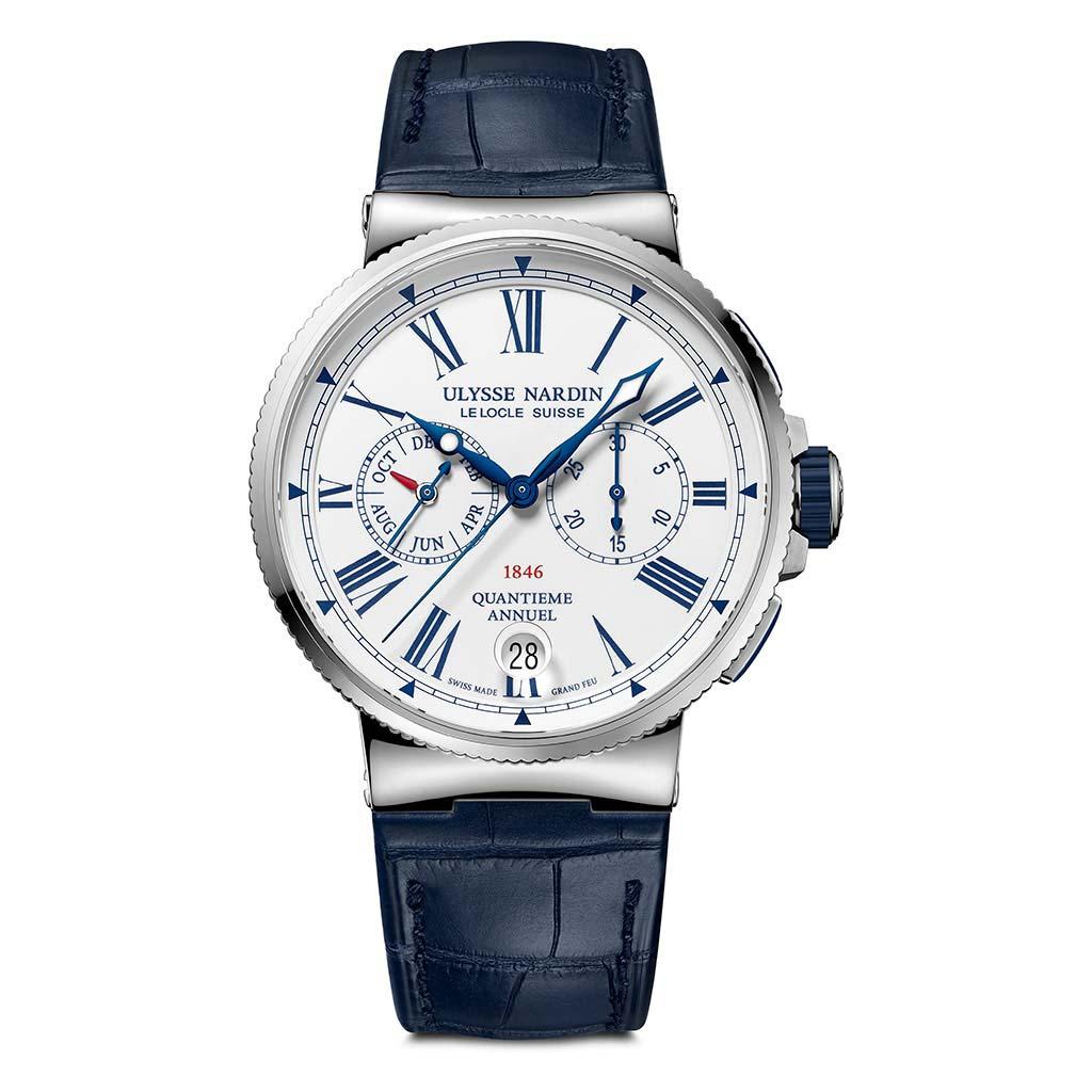Marine Chrono. Annual Calendar Manufacture Watch