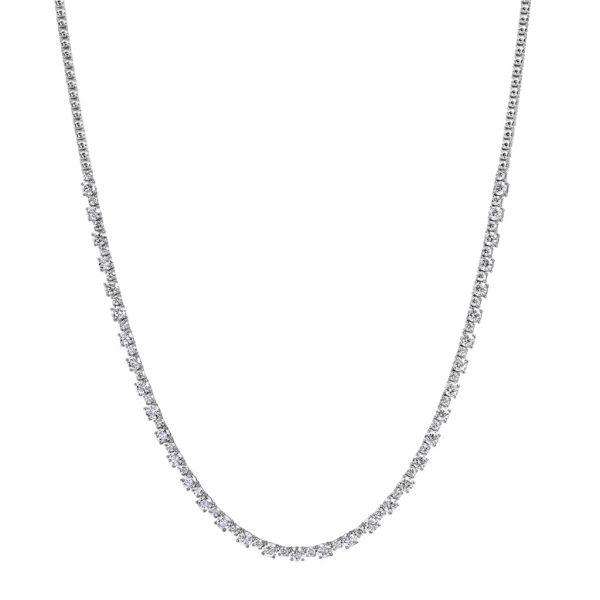 Alternating Diamond Necklace