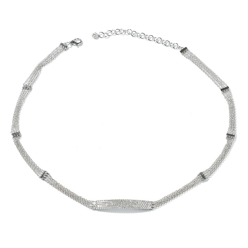 Multi Chain Diamond Necklace