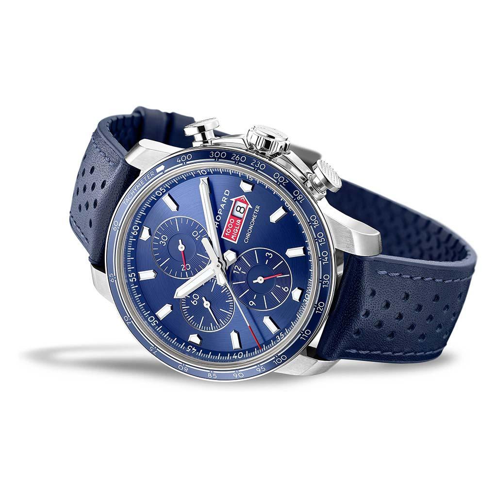 Mille Miglia Gts Azzurro Chrono Watch