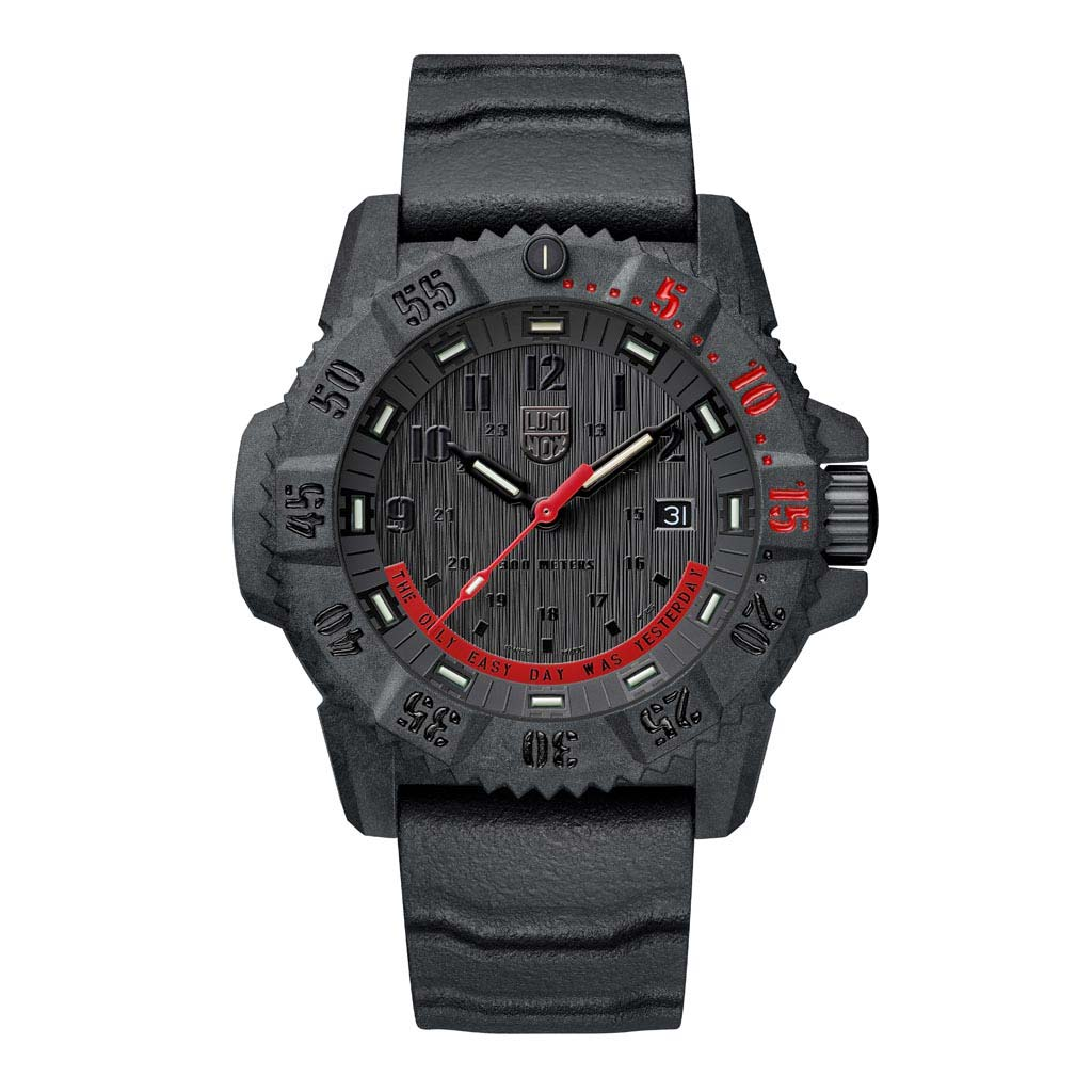 3801.Ey - Limited Edition Master Carbon Seal - The Only Easy Day Was Yesterday Watch