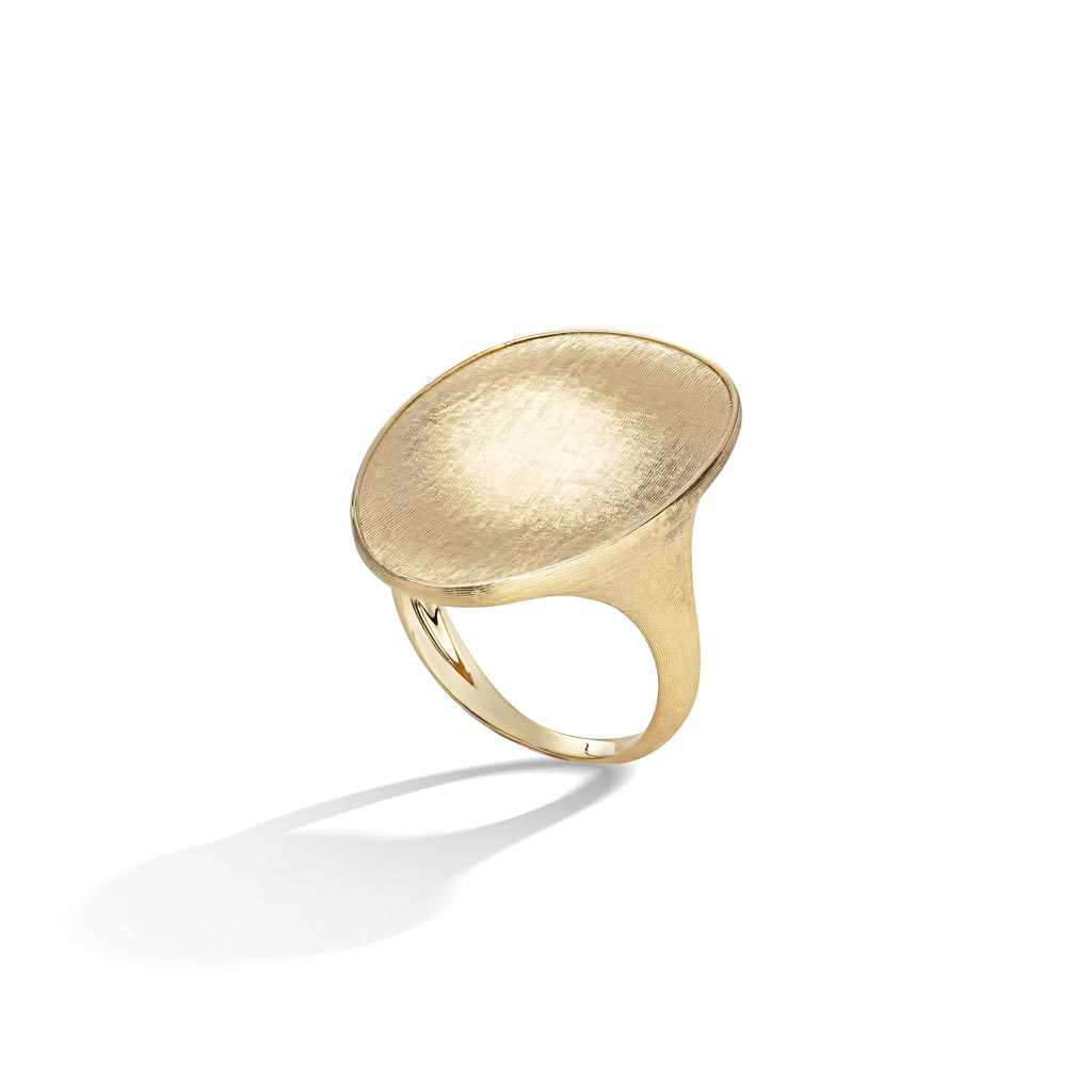 Lunaria Collection 18k Yellow Gold Cocktail Ring