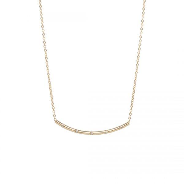 Smile Diamond Necklace